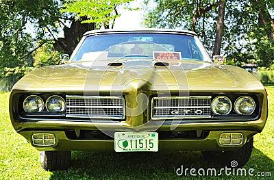 1969 Pontiac GTO Editorial Image