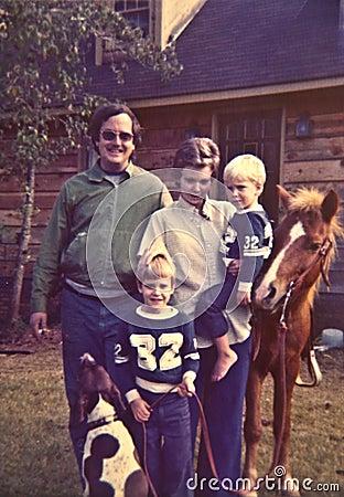 1970 s Family Photo