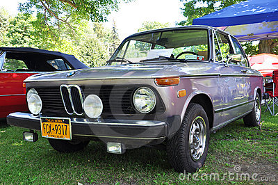 1974 BMW 2002 antique car Editorial Photography