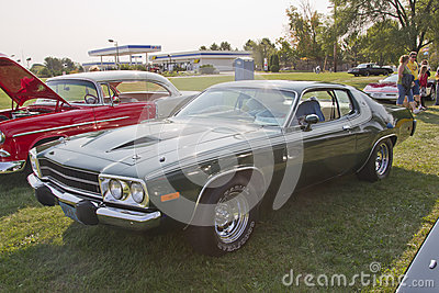 1974 Plymouth Roadrunner Editorial Stock Image