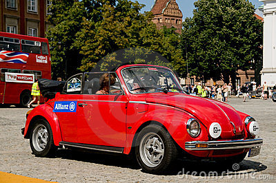 1978 Volkswagen Beetle 1303 LS Cabrio Editorial Photo