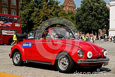 1978 Volkswagen Beetle 1303 LS Cabrio Editorial Photo