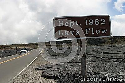 1982 Lava Flow