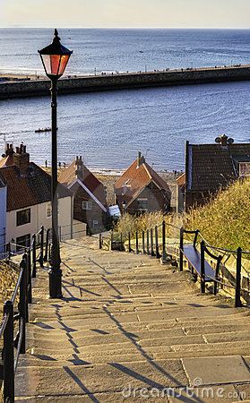 Free 199 Steps Whitby Stock Photo - 11344970