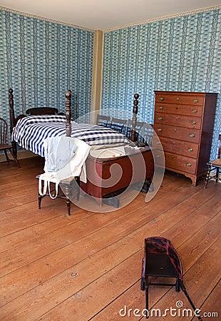 19th-Century Bedroom