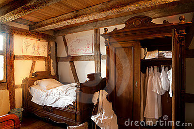 19th century bedroom