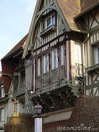 Free 19th Century Frontage 1 , Deauville, France Royalty Free Stock Photography - 9083527