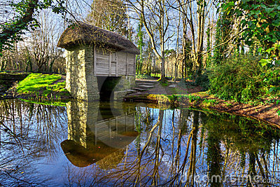 19th century watermill in Bunratty Folk Park
