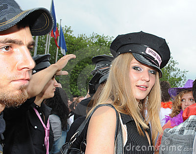 The 19th Street Parade in Zurich, august 14th 2010 Editorial Image