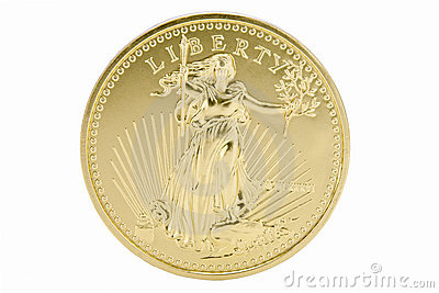 1oz Solid Gold 50 Dollar Coin - USA