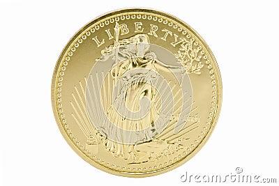 1oz Solid Gold 50 Dollar Coin - USA