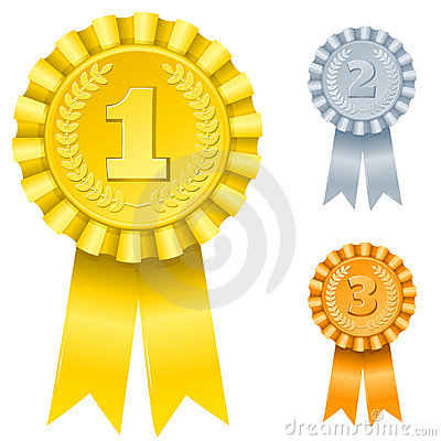Free 1st; 2nd; 3rd Awards Stock Photos - 13898403