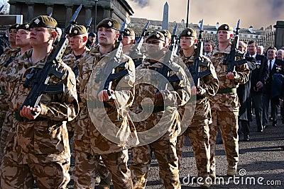 1st battalion Irish Guards Editorial Photography