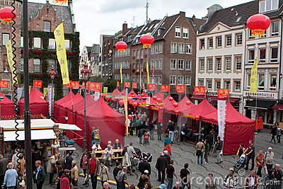 1st Düsseldorf China Festival, Editorial Stock Photo