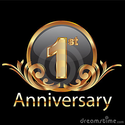 Free 1st First Anniversary Stock Images - 23156654