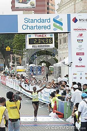 1st Winner of KL Marathon Editorial Photography