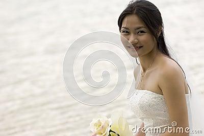 2个亚洲人新娘