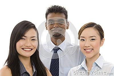 2个企业小组年轻人