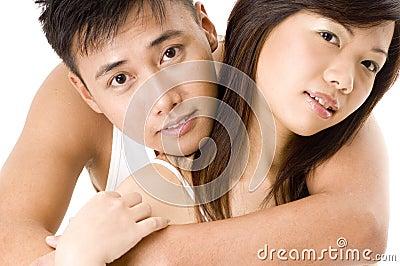 2对亚洲夫妇