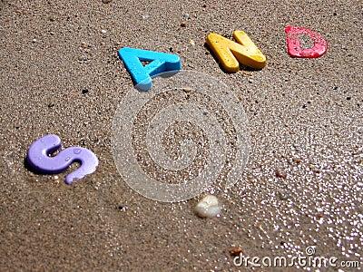 2湿的沙子