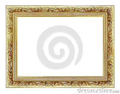 2金黄的框架