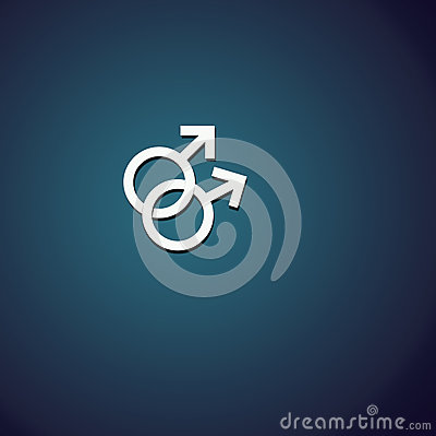 2 αρσενικά σύμβολα