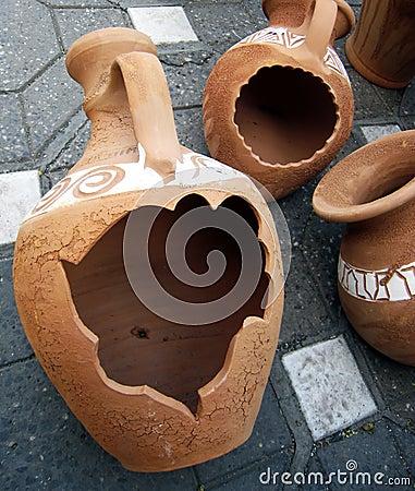 2 формы глины