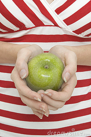 2 яблоко - зеленый цвет