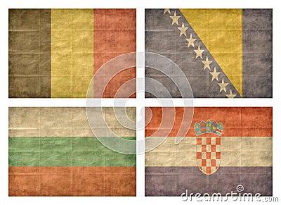 2/13 Flags of European countries