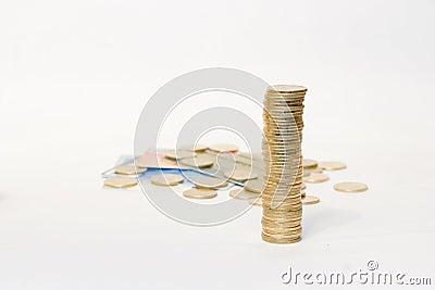 金黄2枚的硬币