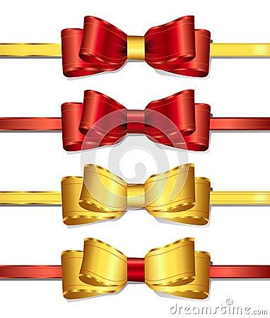 2条弓丝带
