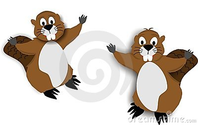 2 Beaver cartoons