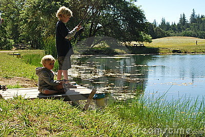 2 Boys Fishing