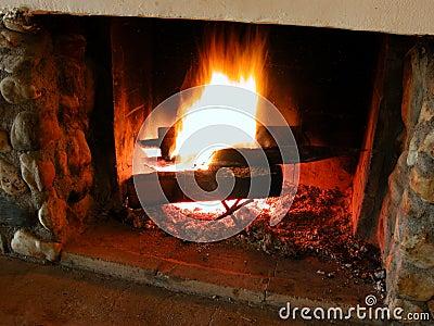 2 burning flammor