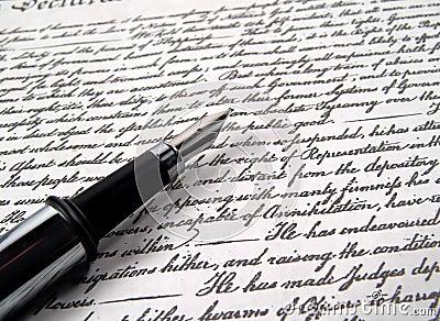 2 długopis kaligrafii