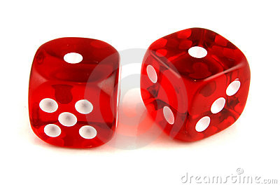 2 dice showing 1 and 1