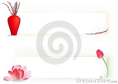2 flower banner