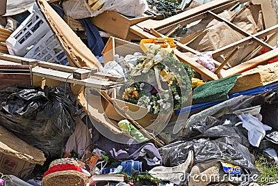 2 gospodarstwa domowego garbash złomu