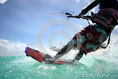 2 kitesurfer