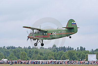 An-2 lands Editorial Photo