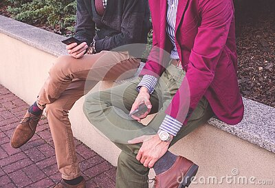2 Men Wearing Formal Attire Sitting Beside Each Other Free Public Domain Cc0 Image