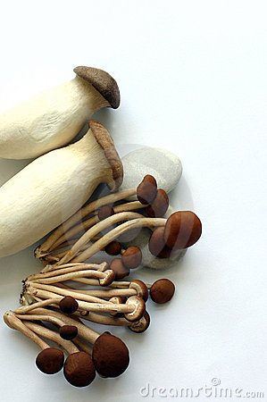 2 organic mushrooms