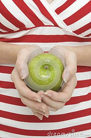 2 äpple - green