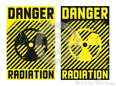 2 radiation posters