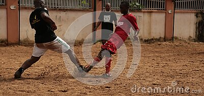 2 Soccer Player Playing For A Ball Free Public Domain Cc0 Image