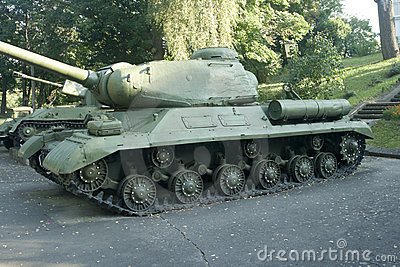 IS-2 - Soviet heavy tank from World War II