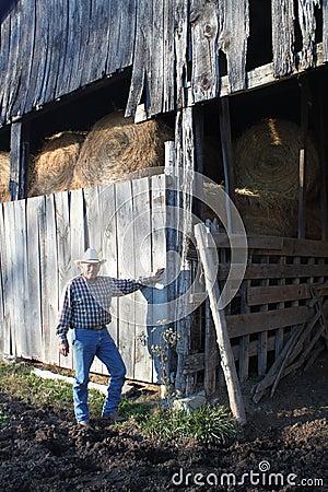 2 stajni kowboja wieśniak