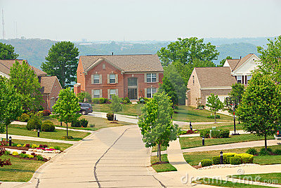 2-story Brick Suburban Homes