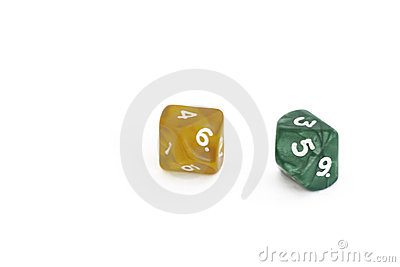 2 ten-sided dice