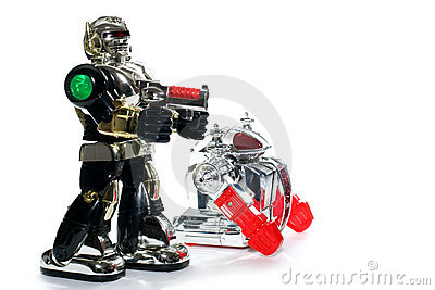 2 toy robot friends